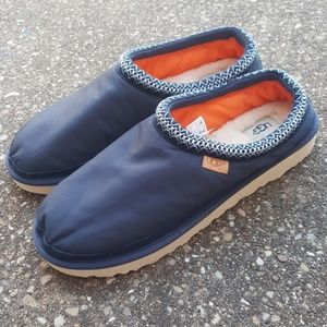 UGG Tasman Navy Blue Military Slip On Shoes 13